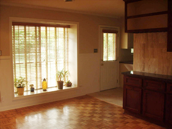 den with large window, 4513 Hummingbird,Houston Texas real estate