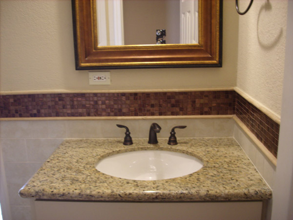 4513 Humingbird second bath sink Houston Texas real estate