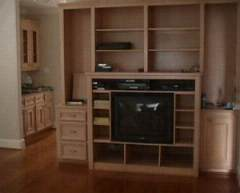 living room of Cedar home in Bellaire TX