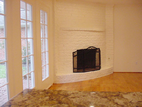 fireplace Houston Texas real estate